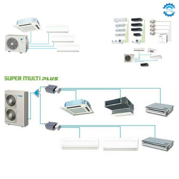 Daikin hệ thống máy lạnh Multi giải pháp dành cho căn hộ chung cư cao cấp