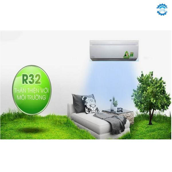 Máy lạnh Inverter sử dụng gas R32 có gì khác biệt?
