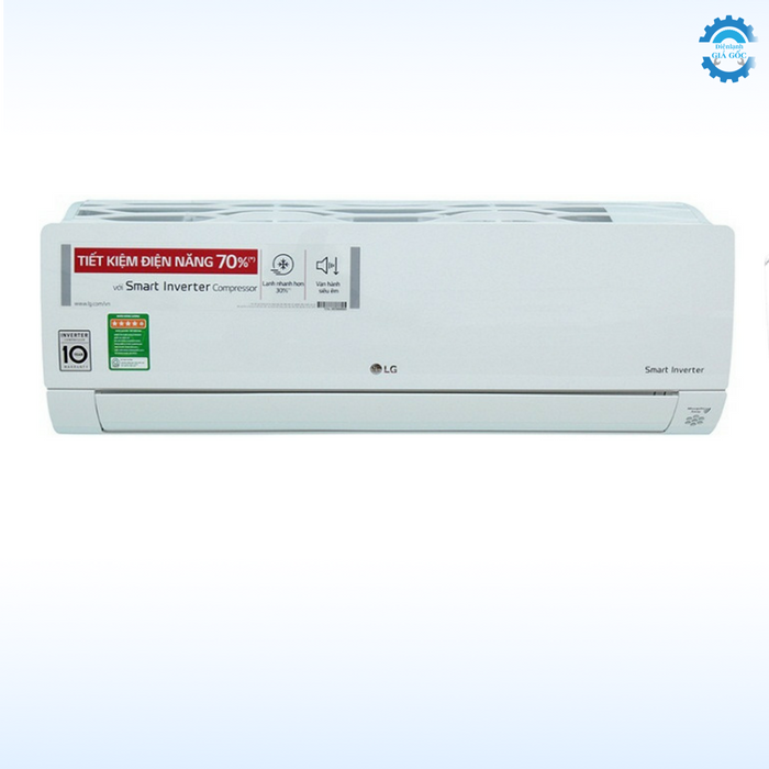 LG Inverter 1.5 ngựa, gas R410A