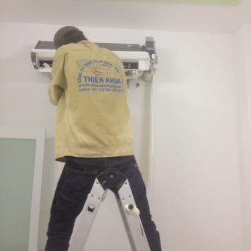 Lắp Đặt Máy Treo Tường Sharp 1HP