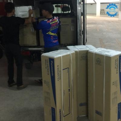 Thi công lắp đặt máy lạnh Panasonic CC Đức Phát, Q7