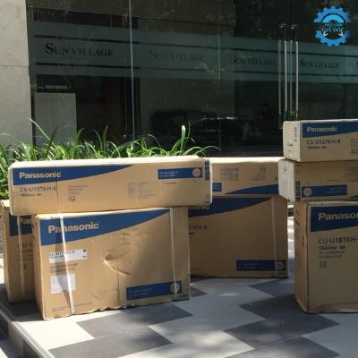 Thi công máy máy lanh Panasonic cc Phú Nhuận