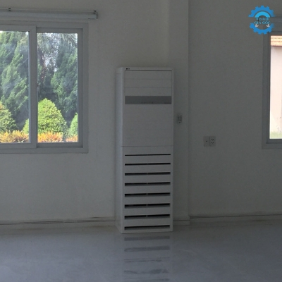 Giao và lắp đặt máy lạnh tủ đứng LG 5.0HP Khu Công Nghiệp Minh Hưng (Bình Phước)