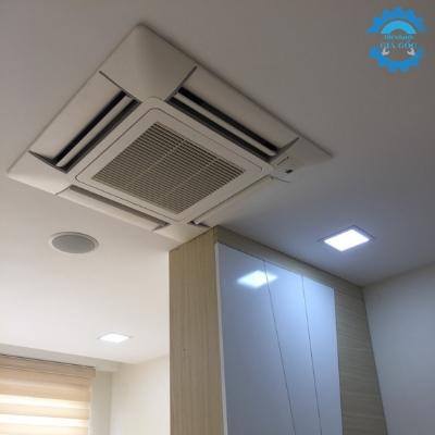 Thi công máy lạnh hệ multi công trình chung cư Suncrice City View, Q.7