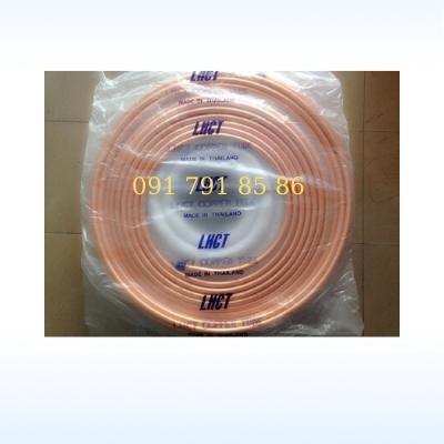 Ống đồng phi 6,10,12,16 zem 0.7- 0.8mm cuộn 15 mét